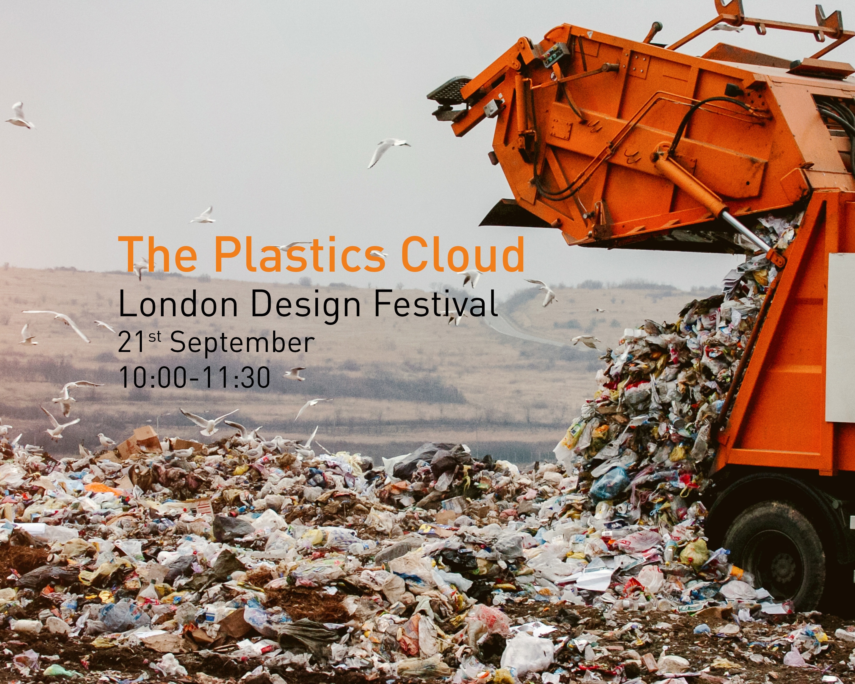 Plastics Cloud at London Design Festival