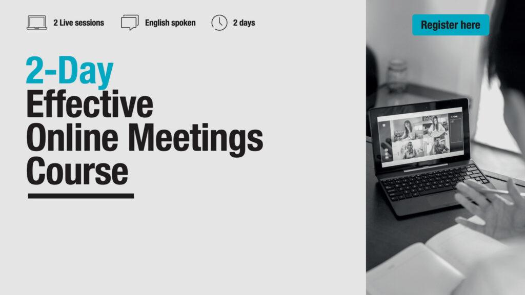 Effective Online Meetings